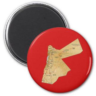 Jordan Map Magnet