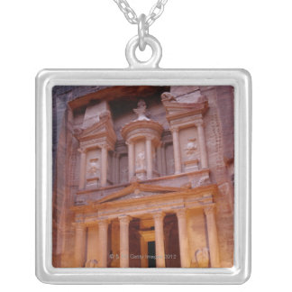 Jordan, Middle East Silver Plated Necklace
