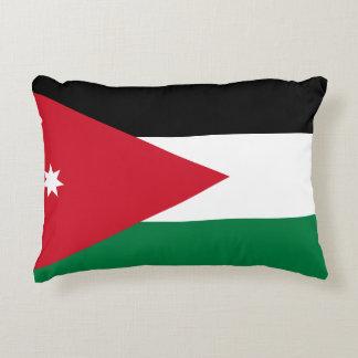 Jordan National World Flag Accent Pillow