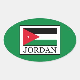 Jordan Oval Sticker