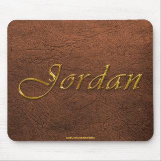 JORDAN Personalised Leather-look Mousepad