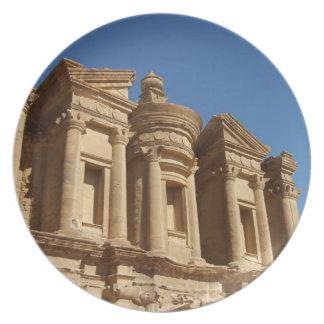 Jordan, Petra, The Monastery, Al Deir. 2 Melamine Plate