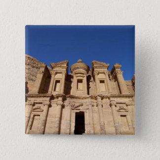 Jordan, Petra, The Monastery, Al Deir. Button