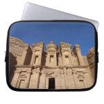Jordan, Petra, The Monastery, Al Deir. Computer Sleeve