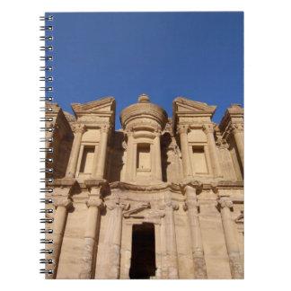 Jordan, Petra, The Monastery, Al Deir. Notebooks