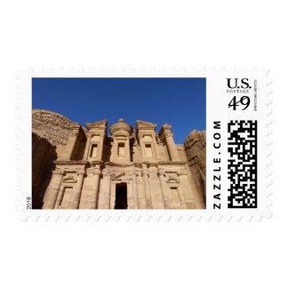 Jordan, Petra, The Monastery, Al Deir. Stamps