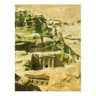 Jordan, Petra, the Nabatean rock hewn tombs Postcard