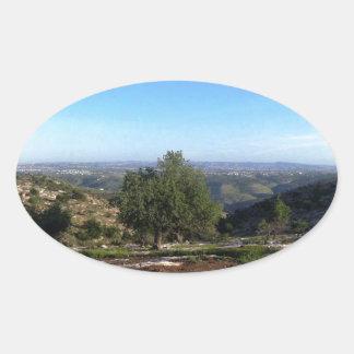 Jordan Picnic Spot Oval Sticker