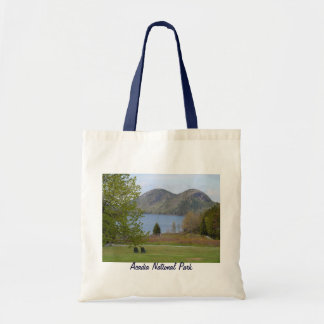 Jordan Pond, Acadia National Park Canvas Bag