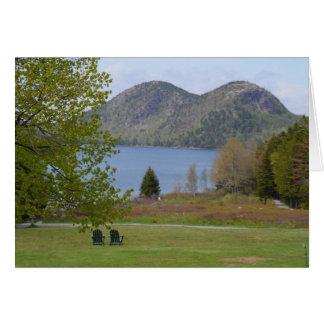 Jordan Pond, Acadia National Park Stationery Note Card