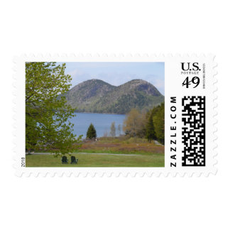 Jordan Pond, Acadia National Park Stamp