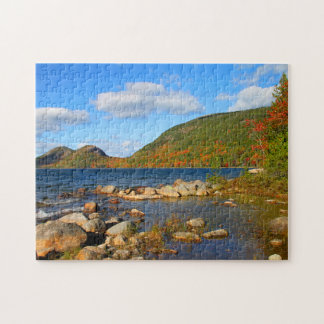 'Jordan Pond and the Bubbles' Jigsaw Puzzle