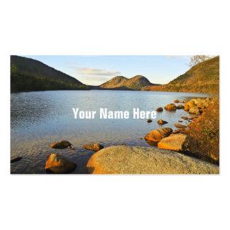 Jordan Pond Business Cards
