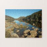 "Jordan Pond Jigsaw Puzzle<br><div class=""desc"">Jordan Pond,  Acadia National Park</div>"