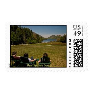 Jordan Pond Stamp