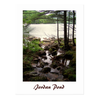 Jordan Pond Shore Trail Postcard