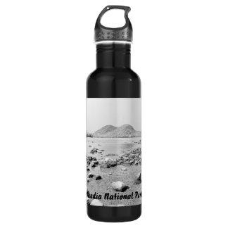 Jordan Pond Sketch Bottle 24oz Water Bottle