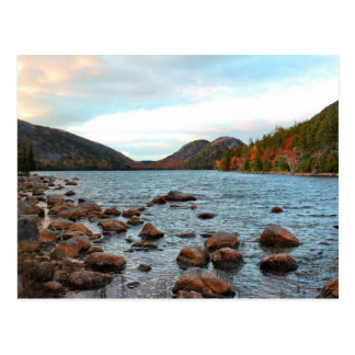 'Jordan Pond & the Bubbles' Postcard