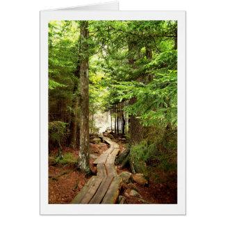 Jordan Pond Trail Card