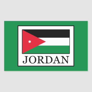 Jordan Rectangular Sticker