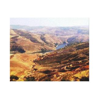 Jordan River Canvas Print