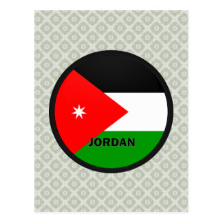 Jordan Roundel quality Flag Post Card