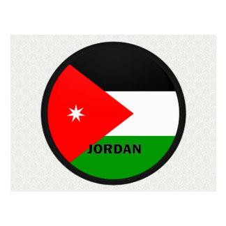 Jordan Roundel quality Flag Postcard