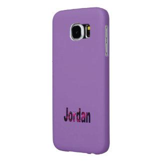 Jordan Solid Purple Samsung Galaxy case