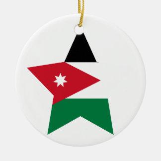 Jordan Star Ceramic Ornament