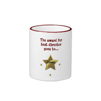 JORDAN: The Award For Best Director Ringer Coffee Mug