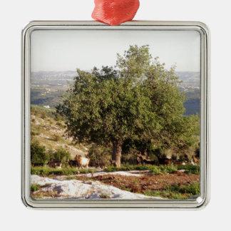 Jordan Tree Metal Ornament