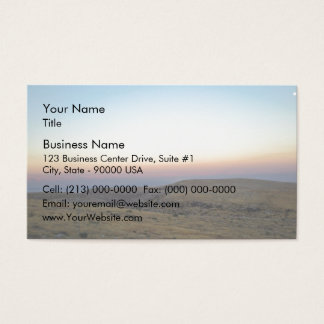 Jordan Valley Business Card