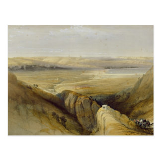 Jordan Valley, del volumen II 'del Land santo Tarjetas Postales