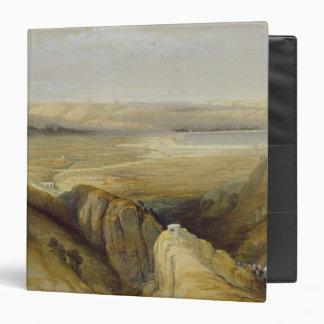 Jordan Valley, from Volume II of 'The Holy Land' 3 Ring Binder
