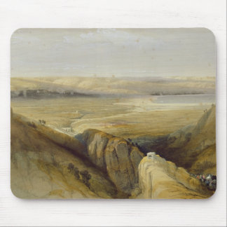 Jordan Valley, from Volume II of 'The Holy Land' Mouse Pad