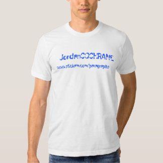 JordanCOCHRANE, www.stickam.com/paragraphs T-shirt