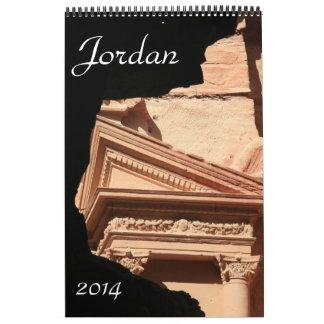 Jordania 2014 calendarios