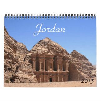 Jordania 2015 calendario de pared