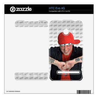 Jordania AJ la piel de HTC Evo 4G del crescendo Calcomanías Para HTC Evo 4G