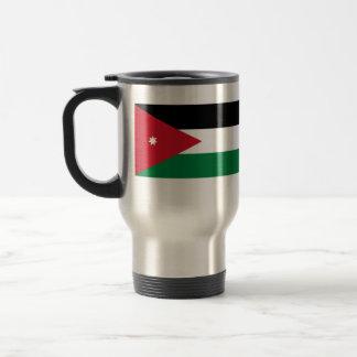 Jordania, bandera del jersey taza de viaje de acero inoxidable