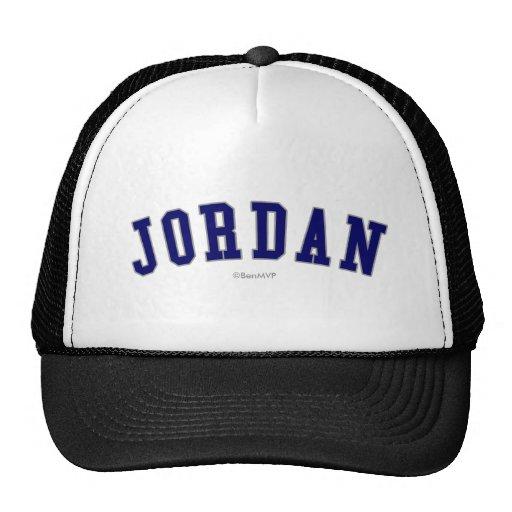 Jordania Gorros Bordados