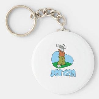 Jordania Llavero Redondo Tipo Pin