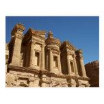 Jordania, Petra, el monasterio, Al Deir. 2 Postal