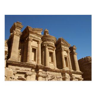 Jordania, Petra, el monasterio, Al Deir. 2 Tarjeta Postal