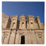 Jordania, Petra, el monasterio, Al Deir. Azulejo Cuadrado Grande