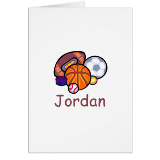 Jordania Tarjeta De Felicitación