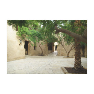 Jordanian Architecture Gallery Wrap Canvas