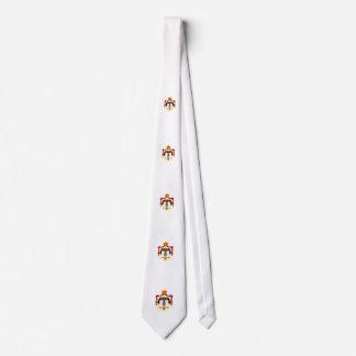 Jordanian coat of arms neck tie
