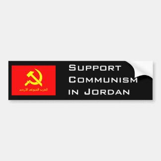 Jordanian Communist flag Bumper Sticker