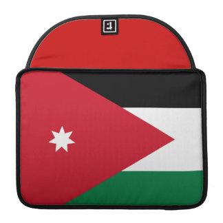 Jordanian Flag MacBook Pro Sleeves